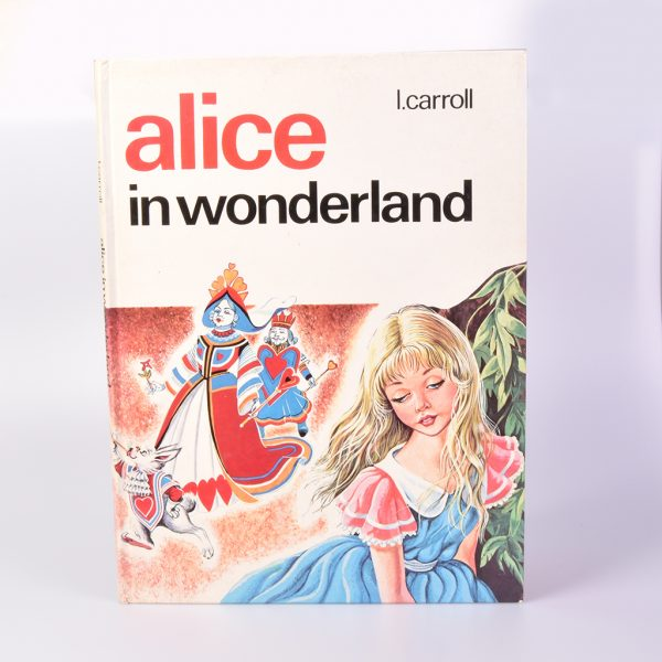 Vintage sprookjesboek Alice in Wonderland